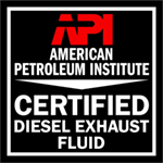 OSO's Diesel Exhaust Fluid certified by the API